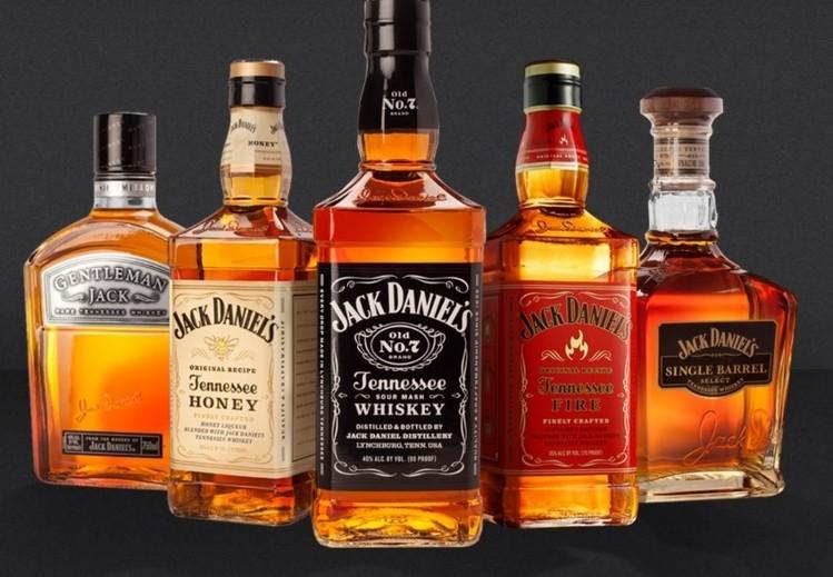 jack daniels flavors